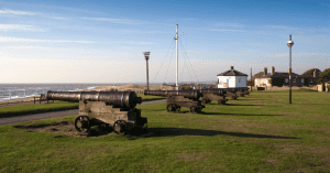 Gunhill Southwold in spring