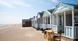 Southwold beach huts available to hire from Dur
