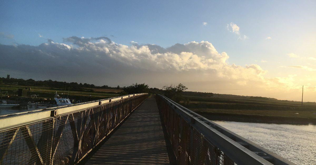 Southwold Walberswick bailey bridge